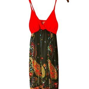 Women's Monroe & Main Paisley Dress Sm